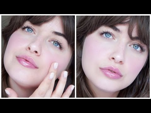 Natural Makeup Using Glossier Products