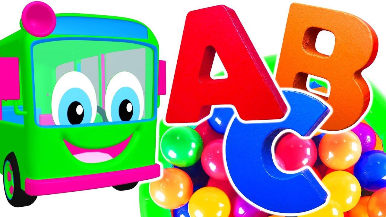 Kids Learn Colors & ABCs with Educational Toys | Teach ABC ...