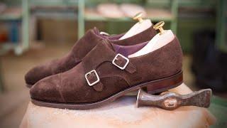 9c8d37b545b DOUBLE MONK STRAPS IN BROWN 80250 INCA · Carmina shoemaker