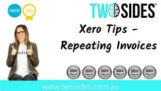 Xero Tips  - Repeating Invoices
