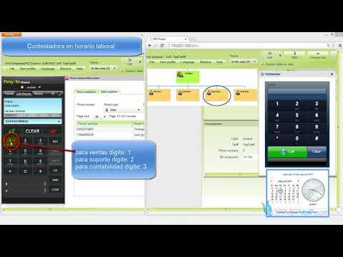 Contestadora Automatica IVR Switch PBX para Grabar Mensajes Call Center... *SISTEMA IVR*
