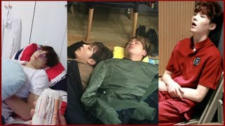 BTS Cute Sleeping Compilation