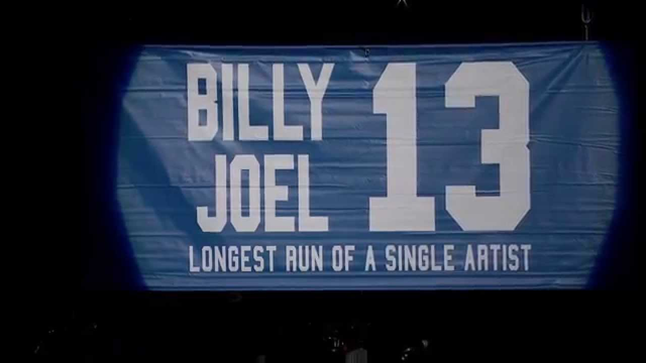 Billy Joel At Madison Square Garden January 9 Exclusive Video