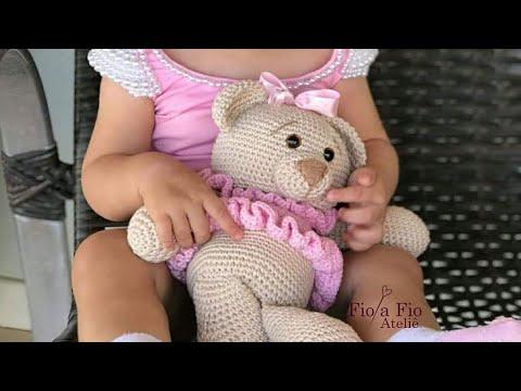 Quem não gosta de um ursinho? 🐻Rei Urso🐻 💖Amigurumi feito com ... | 360x480