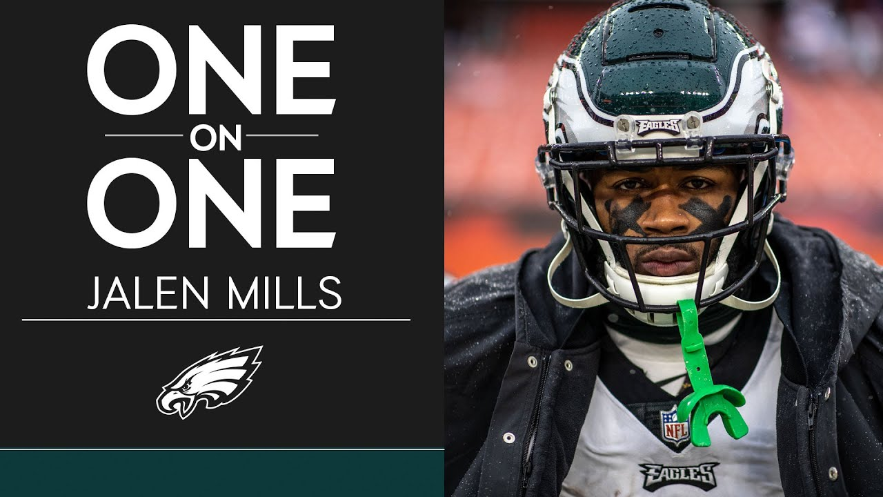 Jalen Mills Goes In-Depth on His Football Journey | Eagles One-On-One