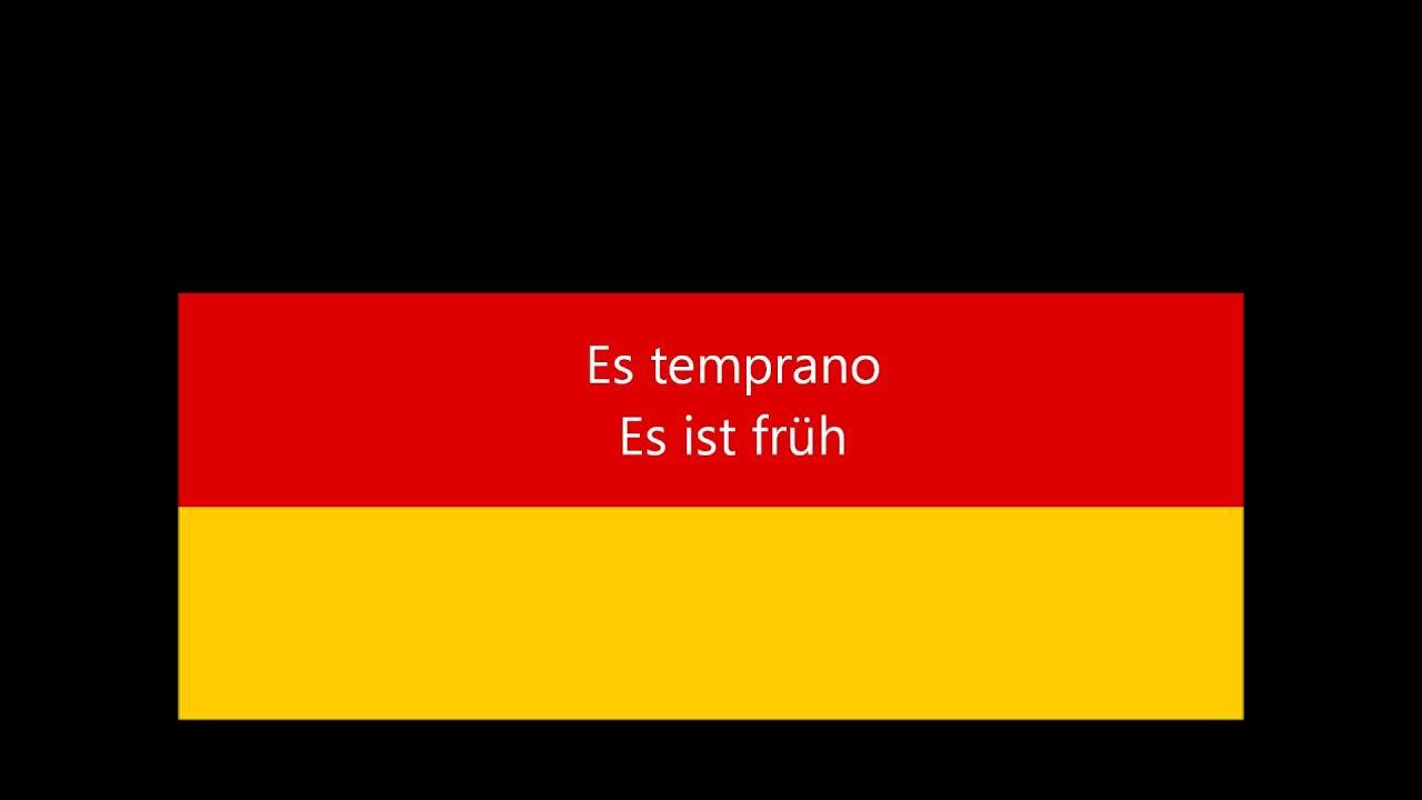Aprender Alemán 100 Frases en Aleman Basicas