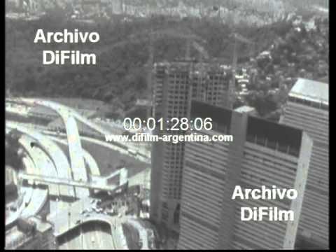 DiFilm - Imagenes de la ciudad de Caracas Venezuela 1977