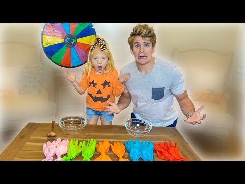 Dont Choose The Wrong Slime Glove Challenge!!!