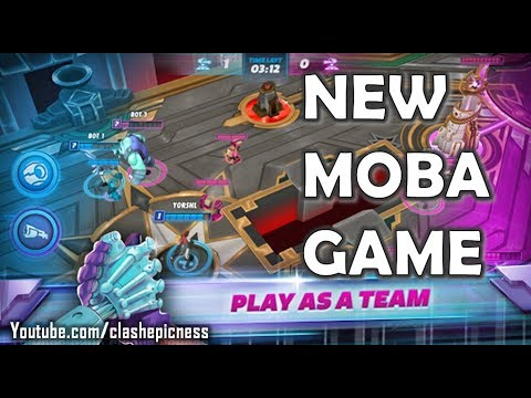 New Moba Game Dec 2017 Unreleased Gameplay Trailer