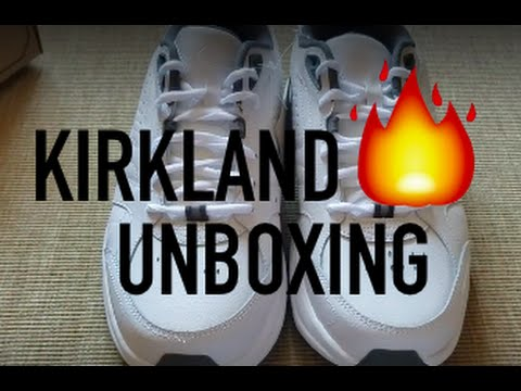 fcec7925924ad6 Costco Shoes Kirkland John Mayer Sneakers UNBOXING FULL REVIEW - YouTube