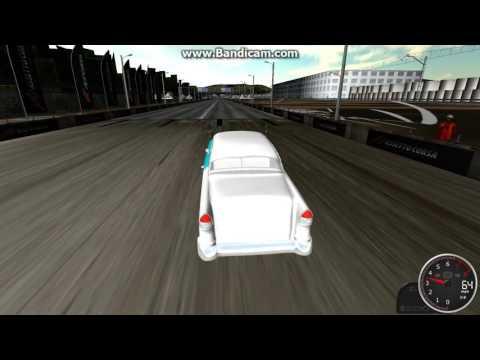 Rigs of Rods-1955 Chevrolet BelAir gasser crash test video 2 of 2