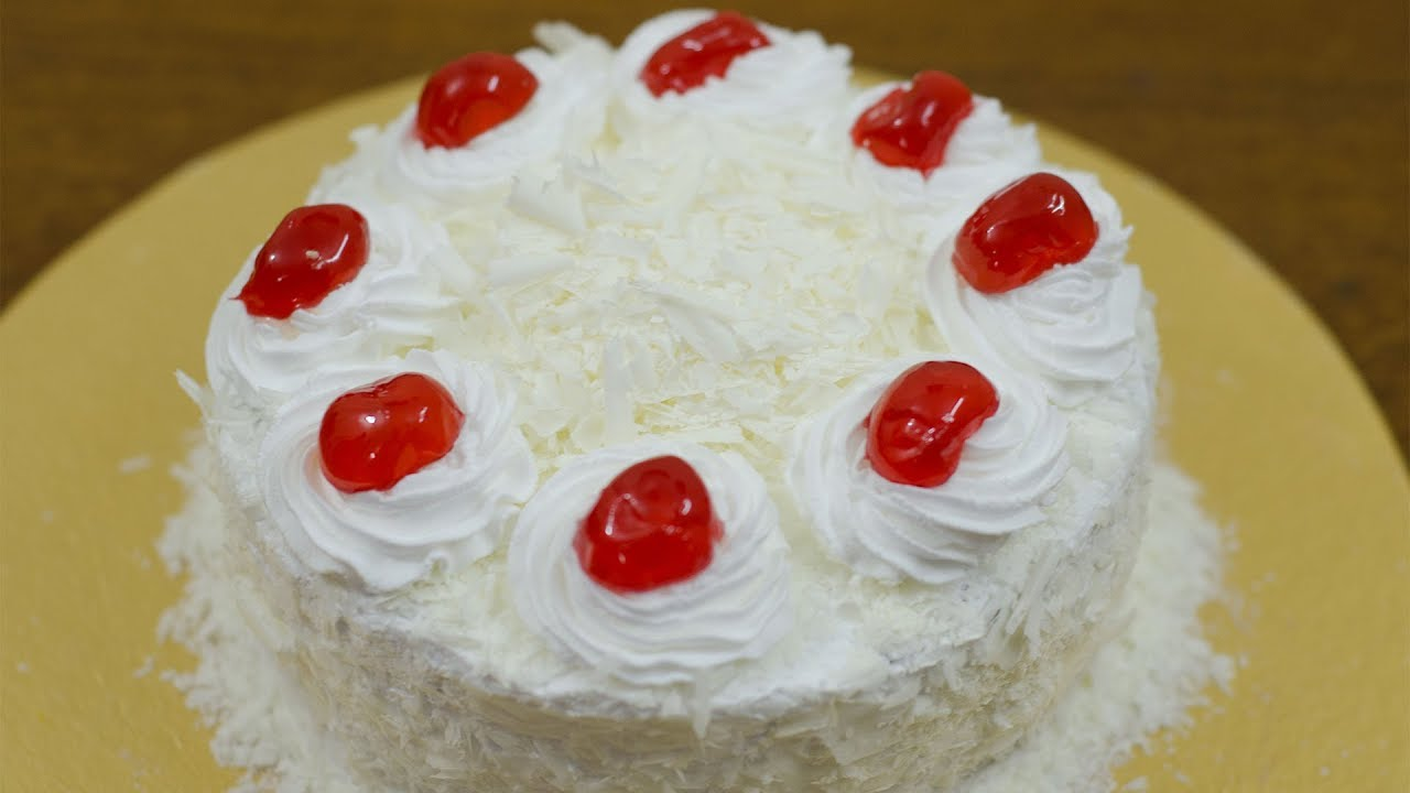 White Forest Cake Recipe In Pressure Cooker: Ari Cooks