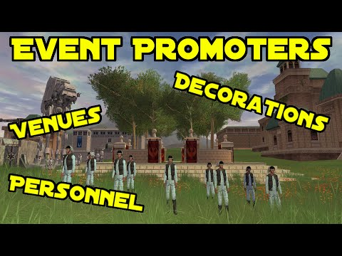 SWGEmuEdu - Ep.135 - Event Promoters: Decorations, Venues, and Personnel