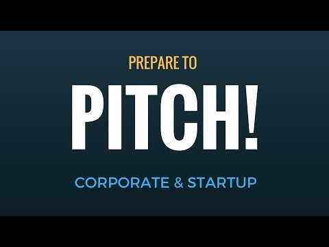 PITCH! How to prepare and present a business case and startup project ? Thomas Wittig