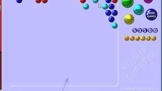 I Beat Bubble Shooter!