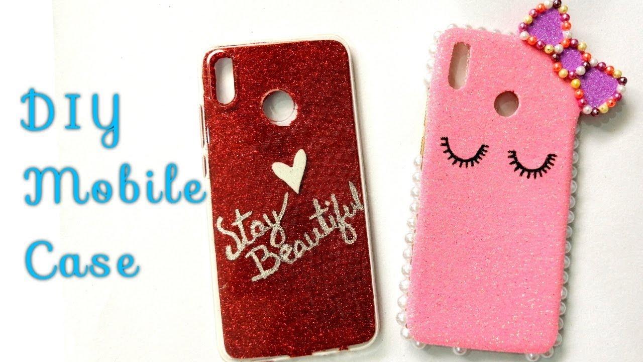 promo code 142d5 7b105 2 Easy Mobile Cover Decoration Ideas | DIY Phone Case Design | Suhana's  Crafty Studio