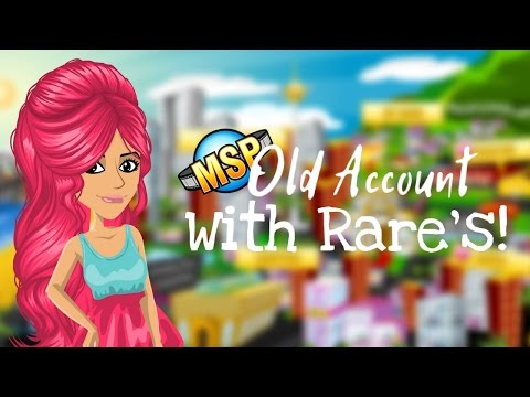 Logging in to my old MSP Account! (It Has Rare's!)