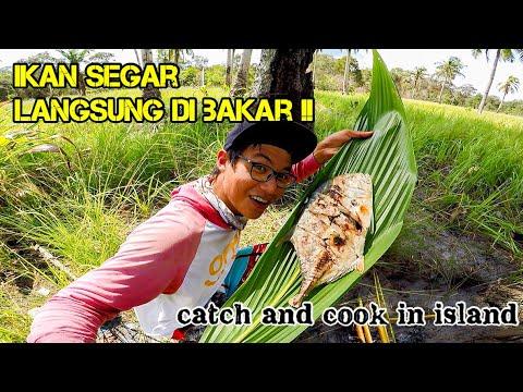 Mancing Dan Masak Ikan Di Pulau Tak Berpenghuni .... (Trip Jigging)