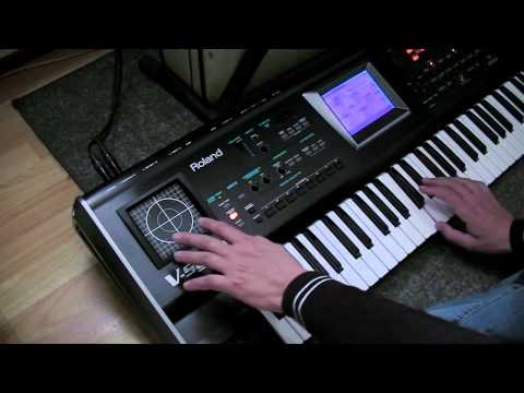 DEMO of the Roland V-Synth V2's first 50 internal sounds by REWO