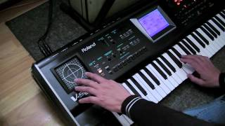 DEMO of the Roland V-Synth V2