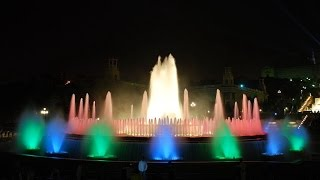 Magic Fountain of Montjuic - Barcelona, Spain - Font màgica de Montjuïc