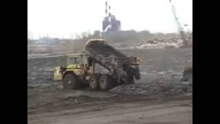 Mud to Parks - Unloading Barge