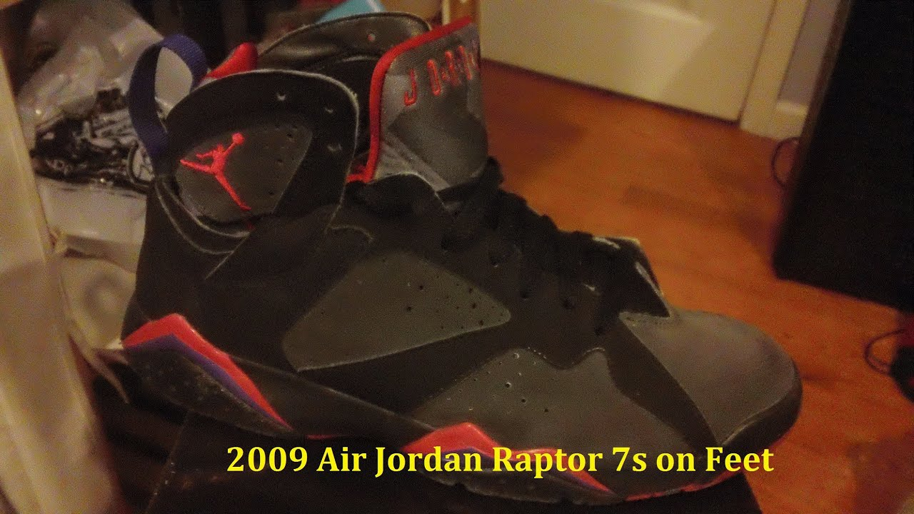 uk availability c6283 edfd7 2009 Air Jordan Raptor 7 Defining Moments on Feet - My First Hip-Hop Beat -  AnAsianBr0skii