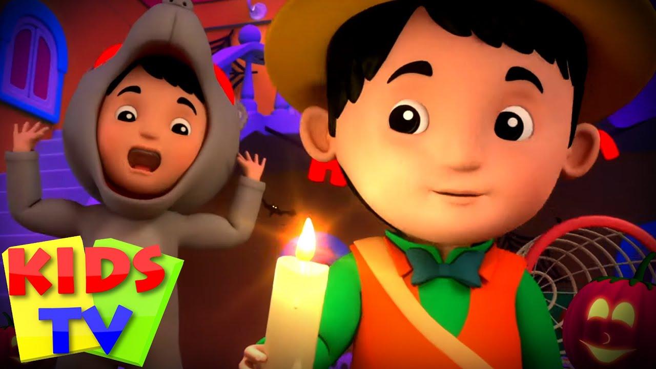 Monsters In The Dark | Halloween Songs | Spooky Songs | Halloween Rhymes | Trick or Treat - Kids Tv