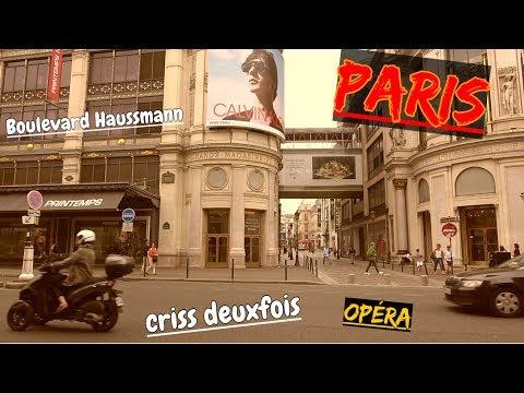 Entre Opéra et Haussmann ; Palais Garnier ; Rue Auber ; Boulevard ;  Paris ; France
