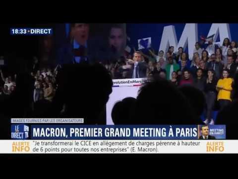 Emmanuel Macron - PARCE QUE C'EST NOTRE PROJET! 😂😂