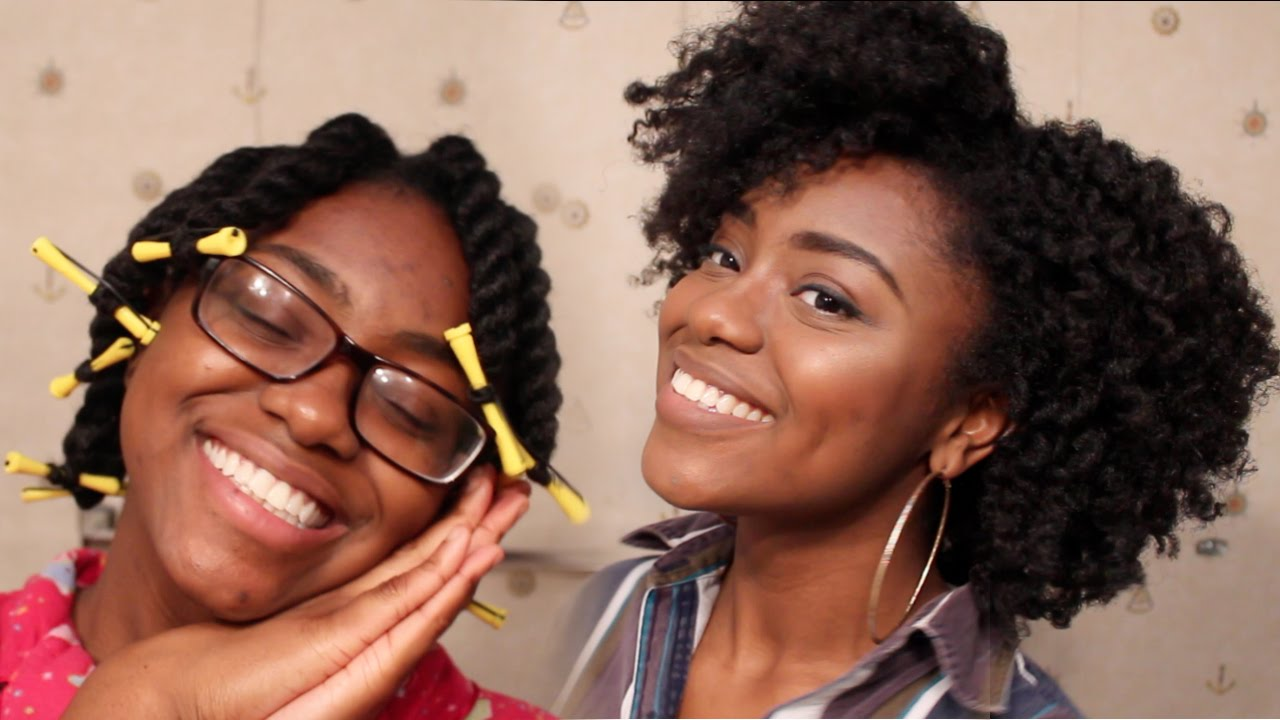 Flat twist out hairstyles