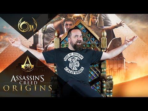 Kipróbáltuk az Assassin's Creed Originst ✈🎮