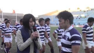 全国大学選手権イメージモデル山崎紘菜さんによる勝利チームインタビュ...