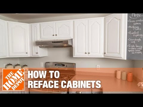 Painting Kitchen Cabinets Home Depot Moroccan Tile Backsplash Rustoleum Cabinet Refacing The Youtube