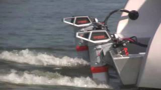 New Electric Boat - A 32 Foot Torqeedo Powered Catamaran: The Blue Planet 32E