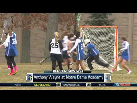 Anthony Wayne at Notre Dame Academy High School Girls Club Lacrosse