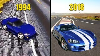 Evolution of Need for Speed Games 1994-2018