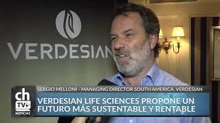 SERGIO MELLONI - LANZAMIENTO DE VERDESIAN LIFE SCIENCE EN SUDAMERICA