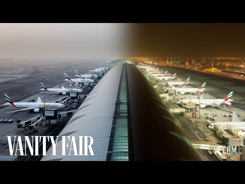 A Day at the Dubai Airport, in One Minute