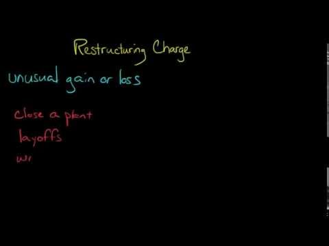 Restructuring Charges (Financial Accounting)
