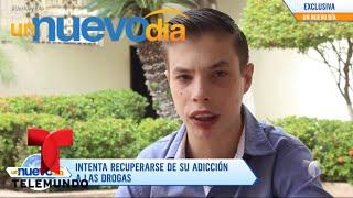 ¡El nieto de Cantinflas lucha contra sus adicciones!   Un Nuevo Día   Telemundo