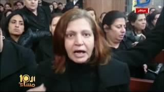 العاشرة مساء| جنازة يوسف لمعي صاحب محل الخمور الذى ذبح بالأسكندرية