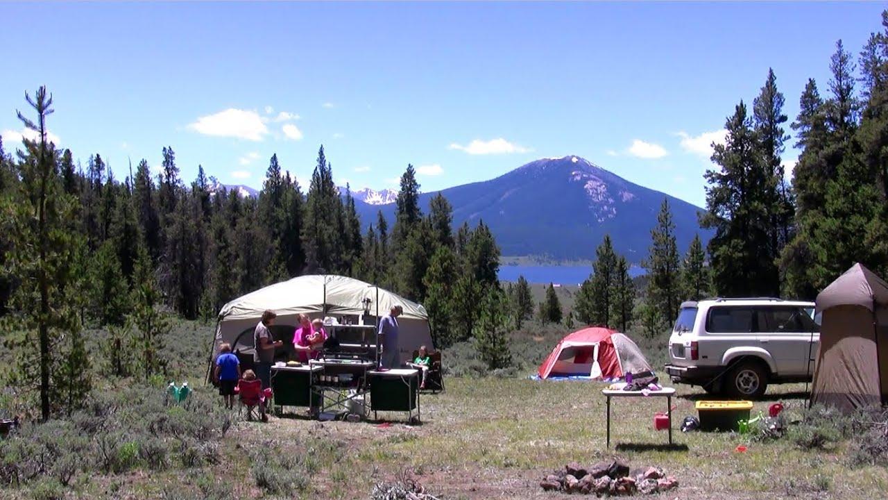 Colorado Family Camping Rocky Mountain Salsa
