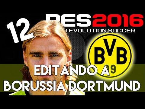 PES 2016 | Abilities And Face Stats Of Schmelzer | Editando A Borussia Dortmund #12 | PS4.