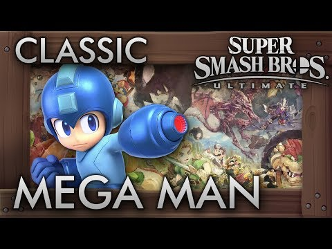 Super Smash Bros. Ultimate: Classic Mode - MEGA MAN - 9.9 Intensity No Continues