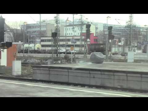 Munich Ostbahnhof HD-Arrival into station