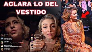 Angelique Boyer responde ante ponerse vestido al revés en Premiación de TvyNovelas