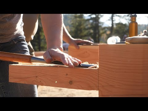 26 Rookies Build Timber Frame House in 5 Days (Day 2)