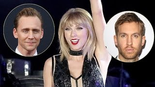 Taylor Swift Penning Revenge Songs About Calvin Harris & Tom Hiddleson?