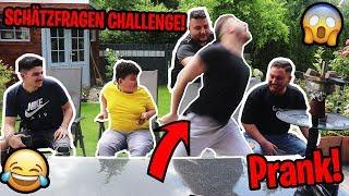 😱Heftige SCHÄTZFRAGEN CHALLENGE! PRANK! (EXTREM) !!! | Can Wick